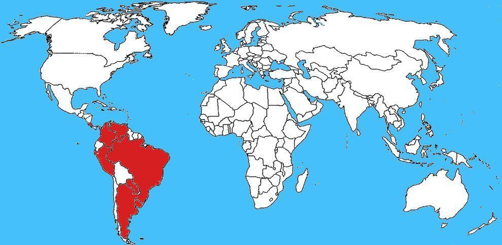 Diffusione Ragno errante brasiliano - Phoneutria nigriventer